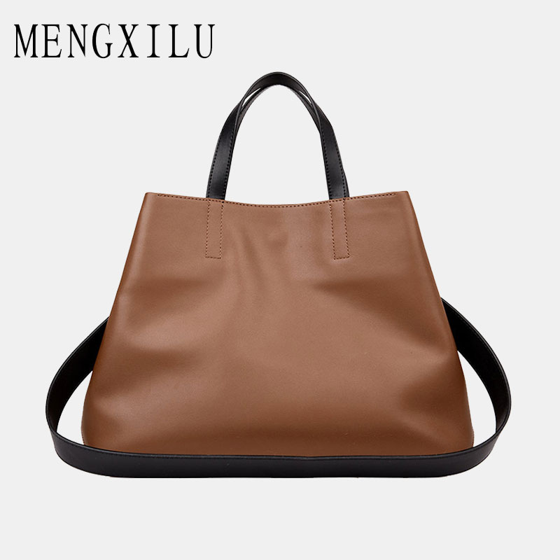 Real Leather Tote Bag Women Genuine Leather Handbags Designer High Quality Shoulder Bags Handbags Women Famous Brand Big Captain real leather tote bag women genuine leather handbags designer high quality shoulder bags handbags women famous brand big captain