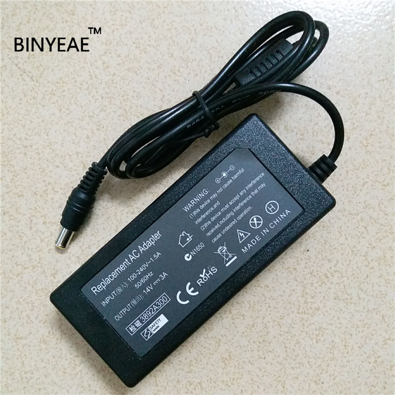 14V 3A AC Adapter Power For Samsung SyncMaster SA300 LCD LED Monitor exhaust tips on jaguar xe