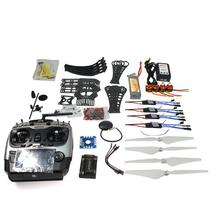 JMT DIY RC Drone Quadrocopter RTF X4M360L Frame Kit with GPS APM 2.8 AT9 TX