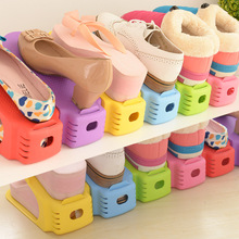 Shoes Rack Shoe-Organizer Double-Cleaning-Storage Stand-Shelf Modern Living-Room Convenient