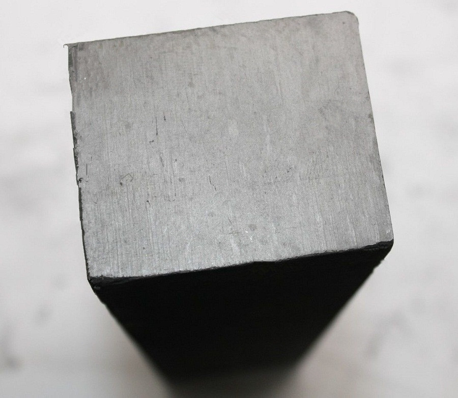 50.8x50.8x76mm Isomolded graphite bar 1pcs / graphite block for copper continuous casting, cast iron