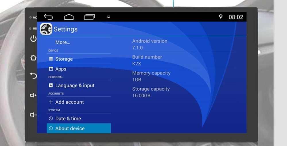 """Android 9.0 7 """"2 Din Evrensel Araba Radyo Dokunmatik Ekran GPS Multimedya Oynatıcı TOYOTA Nissan Kia RAV4 FJ CRUISER ALPHARD"""