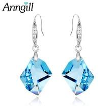Здесь можно купить  ANNGILL Drop Earrings Women Fashion Original Crystal From SWAROVSKI Elements  Pendant Pendientes Bridal Party Wedding Jewelry