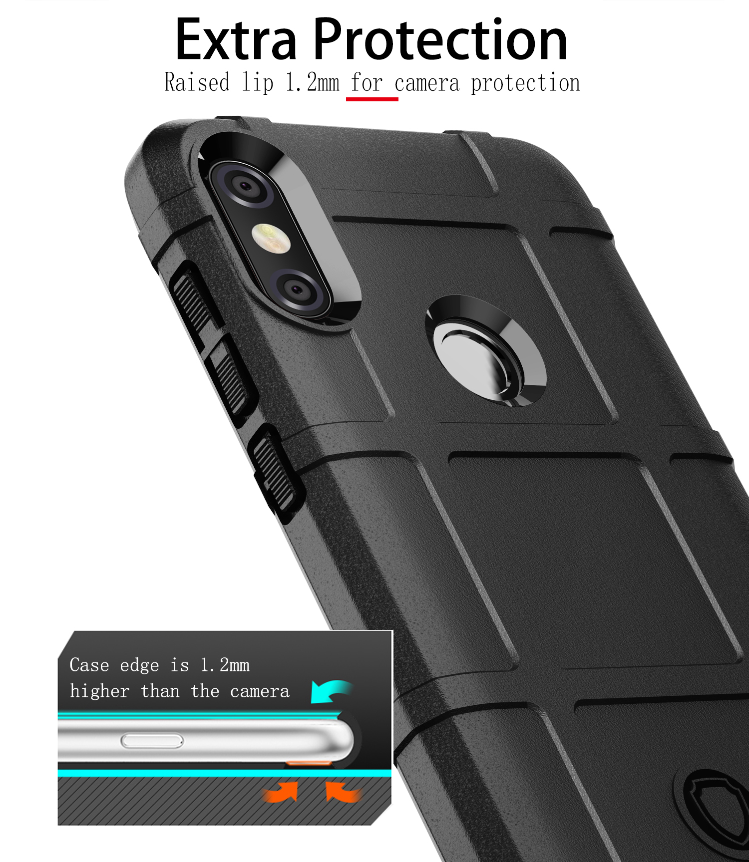 size 40 1ef56 53368 US $4.99  For MOTO One Power Case Cover Case 360 Degree Full Body  Protection For Motorola MOTO One Power Case-in Fitted Cases from Cellphones  & ...