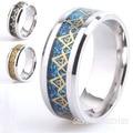 8mm Freemasons Ring Masonic Rings For Men Women Gold Silver Black 316L Stainless Steel Charms Freemasonry fashion Jewelry