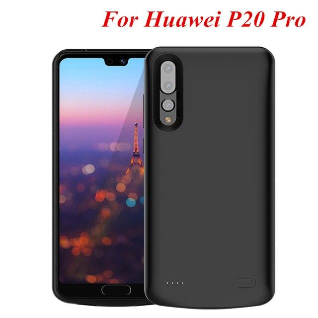 c186ea0f228 Para Huawei P20 pro Bateria Case Capa Carregador de Bateria Externa Caso Power  Bank Capa Para
