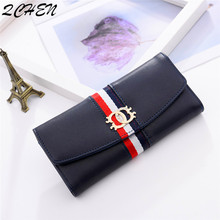 Woman's wallet Long Purses Fashion Hollow Coin Purse Card Holder Female women Quality Clutch Money Bag PU Leather Wallet  492