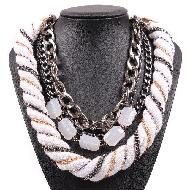7a7f1be35aef China Yiwu Mercado de Productos de Alta Calidad Entrega Rápida Elegante  Popular Cadena Collar de Acrílico
