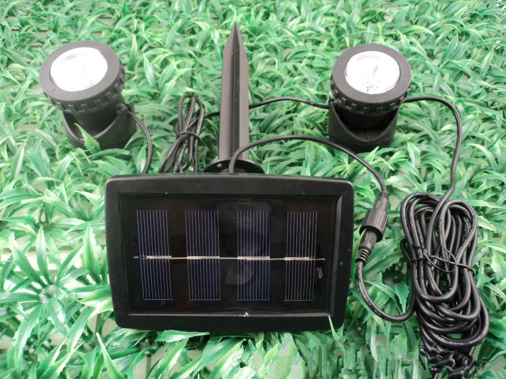 Led solar waterdichte ip spotlight outdoor verlichting