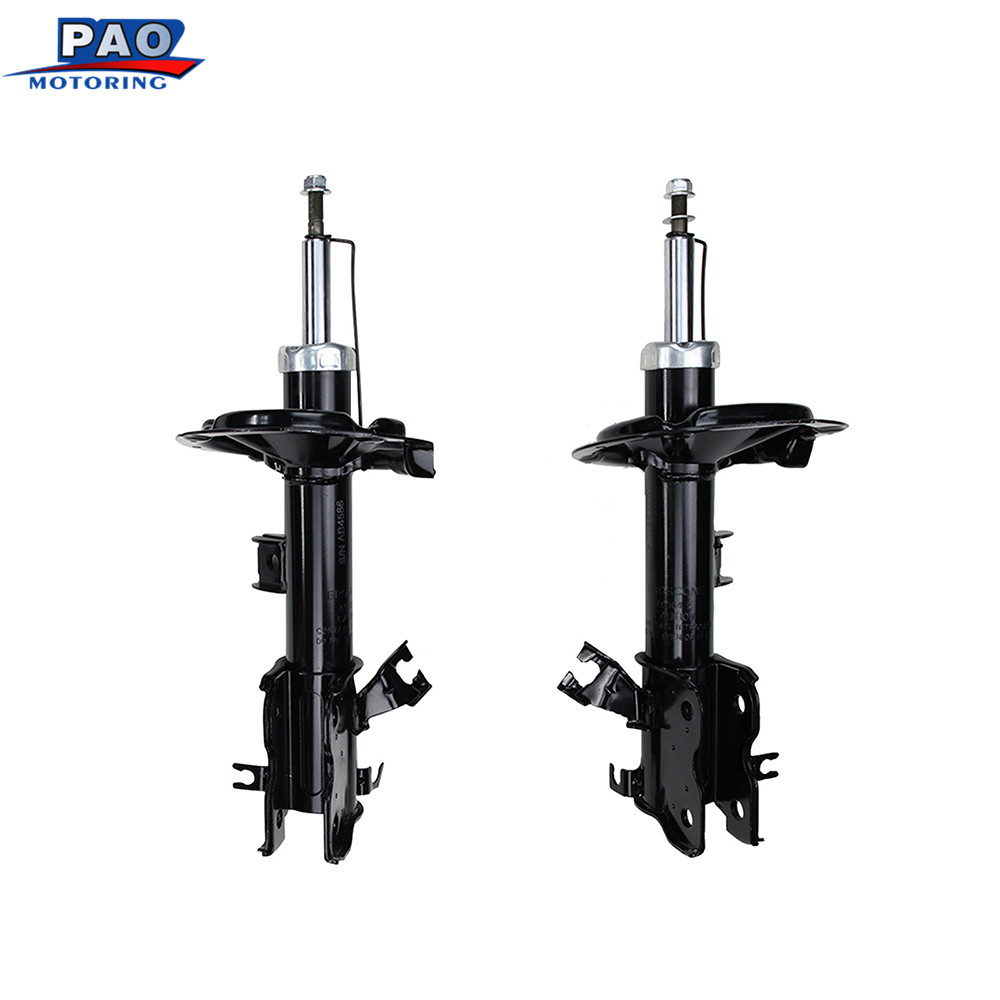 2PC New Front Strut Shock Absorber Left and Right Pair Set Fit for Nissan Quest 2004-2009 OEM 72272,72271 Car-styling auto parts kyb car right front shock absorber 339232 for toyota highlander auto parts
