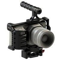 HONTOO BMPCC2 4K Rig Kit DSLR RIG Cage Baseplate Top Handle 15mm camera rig FOR BlackMagic Pocket Cinema Camera II 4K