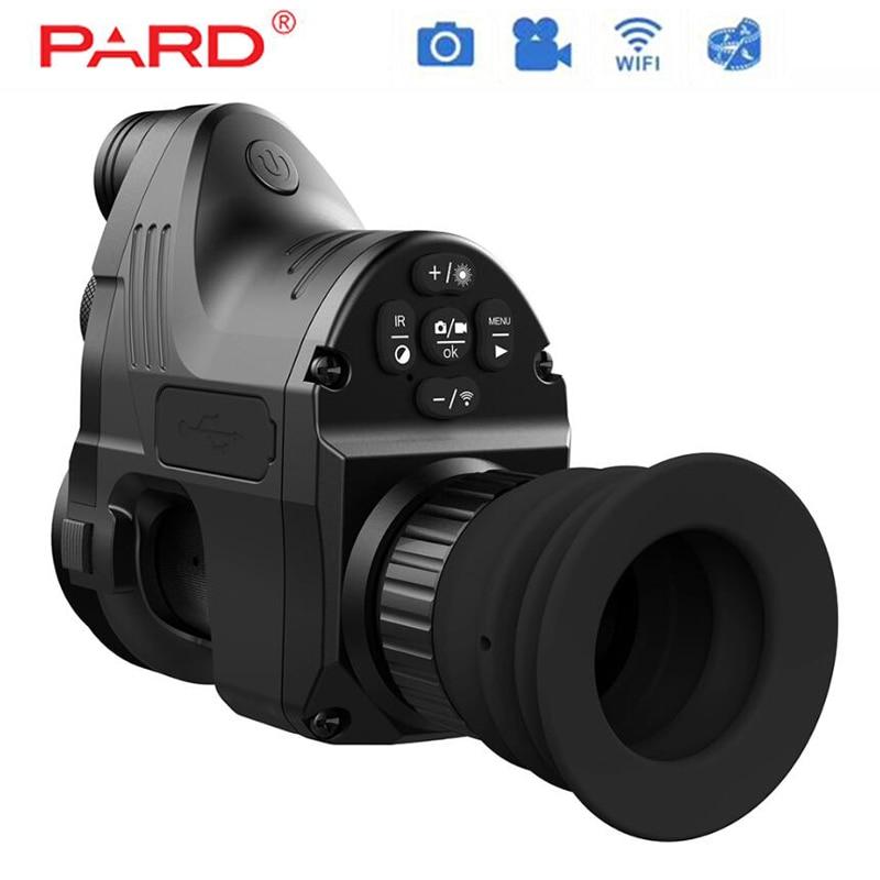 PARD NV007 Caça Digital Night Vision Riflescope Optics Com Wifi APP 200 M Gama Âmbito NV 850nm IR Night Vision escopo vista