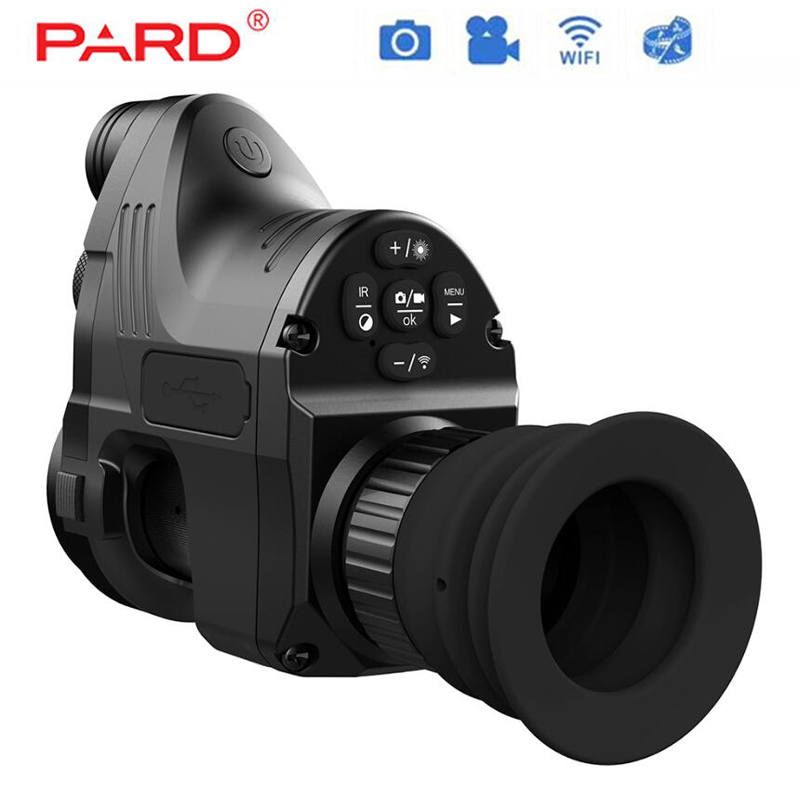 PARD NV007 Caça Digital Night Vision Riflescope Optics Com Wifi APP 200 M Gama Âmbito NV 850nm IR Night Vision escopo vista