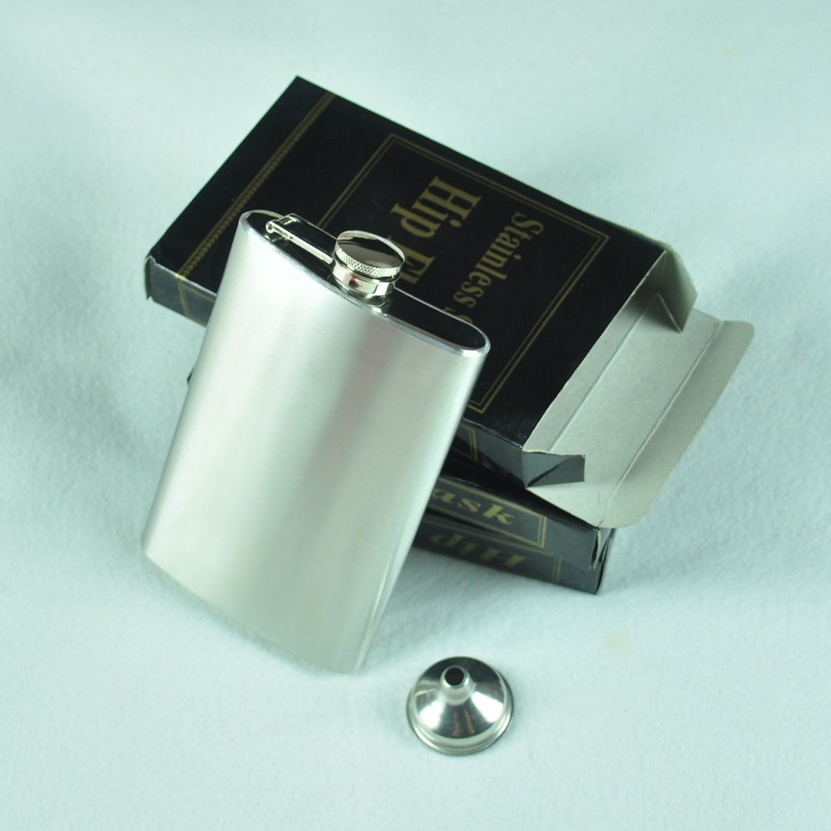 Muži nosit přenosné 10 oz Nerezová ocel flagon (školní nálevka) 148g