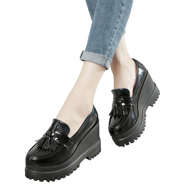 Tassel Platform Women Shoes