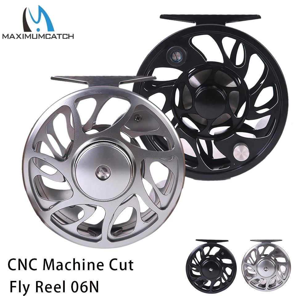 Maximumcatch 2 10WT Fly Fishing Reel CNC Machine Cut Aluminum Large Arbor Fly Reel|Fishing Reels|Sports & Entertainment - title=
