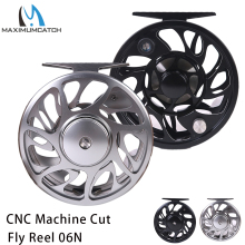 Maximumcatch 2-10WT Fly Fishing Reel CNC Machine Cut Aluminum Large Arbor Fly Reel