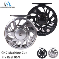 Maximumcatch 2 10WT Fly Fishing Reel CNC Machine Cut Aluminum Large Arbor Fly Reel