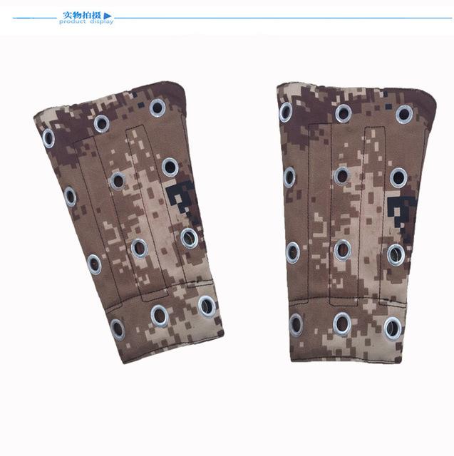 Camuflagem Vidro anti-corte de pulso anti-scratch fábrica de barra de aço punho da luva de proteção do trabalho braçadeiras