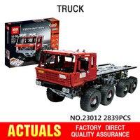 В наличии DHL Лепин 23012 дизайн серии совместимы с Lego 813 Аракава эвакуатор Tatra набор строительных блоков Кирпичи детей игрушки