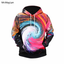 Harajuku Northern Light Paisley 3D Print Hoodies Women/Men Cool Hip Hop Streetwear Pullovers Sweatshirts 2018 Mens Tops Clothes
