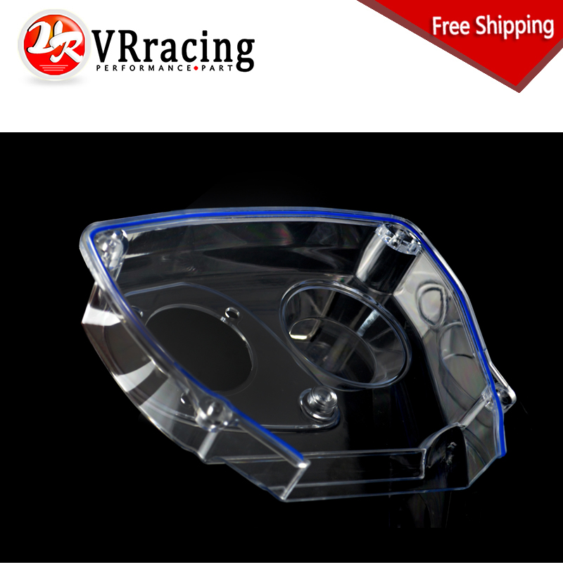 VR RACING - FREE SHIPPING For NISSAN Skyline R32 R33 GTS RB25DET Clear Cam Gear Timing Belt Cover Pulley VR6339  clear fit range vr 40 revolution