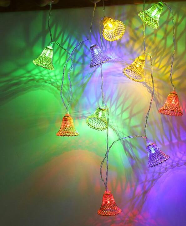New LED lamp string bell color lamp decoration room wedding party decoration lampNew LED lamp string bell color lamp decoration room wedding party decoration lamp