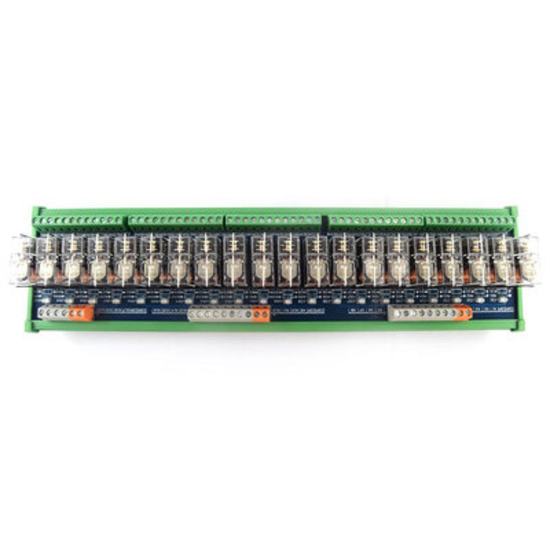 20-way relay module omron OMRON 10A multi-channel solid state relay plc amplifier board ac 0 250v 16 channel relay module silicon controlled plc output amplifier board