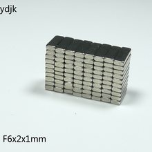 10 50 100 200 adet/grup N35 dikdörtgen mıknatıs 6x2x1 neodimyum mıknatıs 6*2*1 ndFeB mıknatıslar 6 x 2 x 1