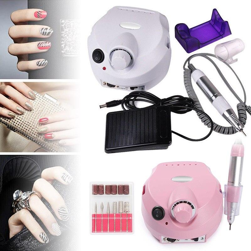 Brocas elétricas p manicure e acessórios