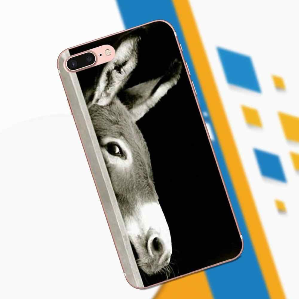 كبيرة الحمار طويلة الأذن [ور] لطيف حمار ل موتو G G2 G3 ل HTC الرغبة 530 626 628 630 816 820 واحد A9 M7 M8 M9 M10 E9 زائد U11