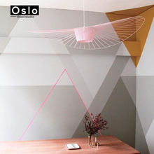Suspension lustre hang Modern Vertigo lamp Fiberglass/polyurethane pendant light Dining room Living room Lamps Bar Cafe room