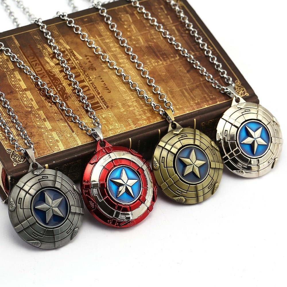 Captain America Shield Necklace 5