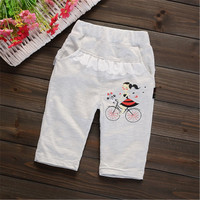 YY13 girls baby clothes summer baby girls pants seven pants children clothes clothes 2107 summer pants causal girls clothes