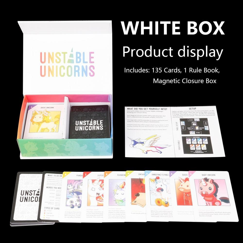 Games Unstable Unicorns Base Toys /&