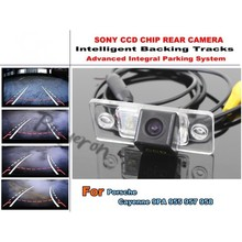 For Porsche Cayenne 9PA 955 957 958 Smart Tracks Chip Camera HD CCD Intelligent Dynamic Parking