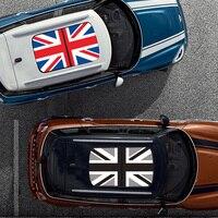 Union Jack Car KK Sunroof Sticker Auto Roof Decal For MINI Cooper One S JCW F54 F55 F56 R55 R56 R60 F60 Countryman Accessories