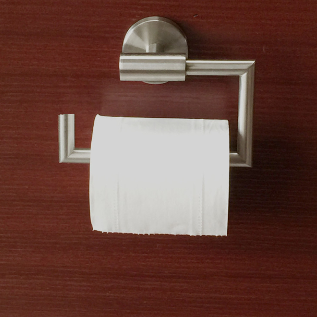 Rustproof Stainless Steel Toilet Paper Holder Bathroom Kitchen Roll ...