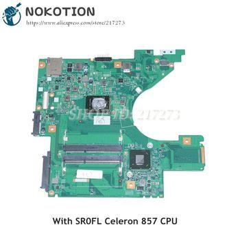 NOKOTION CN-0MJPRW 0MJPRW DJ5 MB 48.4ND01.011 For Dell Vostro V131 Laptop motherboard HM67 DDR3 SR0FL Celeron 857 CPU