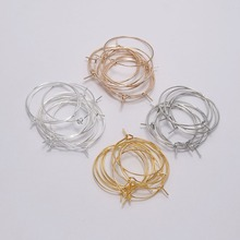 US $1.35 30% OFF 50pcs/lot 20 25 30 35 mm Silver KC Gold Hoops Earrings Big Circle Ear Wire Hoops Earrings Wires For DIY Jewelry Making Supplies-in Jewelry Findings & Components from Jewelry & Accessories on Aliexpress.com   Alibaba Group