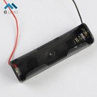 1pcs 3 7V 18650 Battery Holder Li Po Li Ion Battery Case Socket Clip Box Black