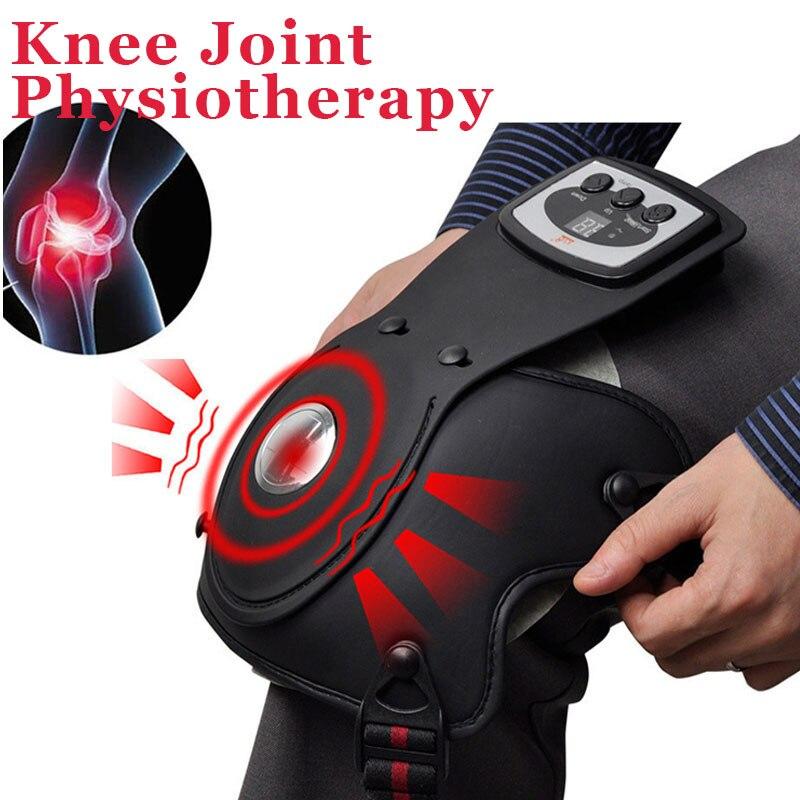 健康膝マッサージャー電気肩アーム関節振動加熱マッサージャーストレス痛み緩和理学療法マッサージ機マシン