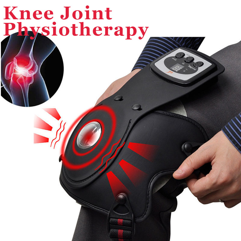Health Knee Massager Electric Shoulder Arm Joint Vibration Heating Massager Stress Pain Relief Physiotherapy Massage Machine mrosaa constipation insomnia treatment intestines stomach belly physiotherapy heating electric massager