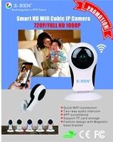 Z BEN Wifi IP Camera P2P IR LED Night Vision HD1080P Audio Video Alarm Smart Home Baby Monitor Surveillnace Safety Fisheye Lens