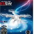 Новая Версия для Syma X5SW-1 Дрон-2.4 ГГц 6 Оси 4 Канала Wi-Fi FPV Реальном Времени RC Quadcopter с Камерой Режим 2