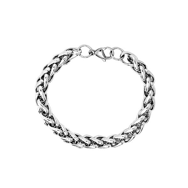 OG-2 Fashion Black Bracelet Titanium Stainless Steel Bracelet Men Bangle Men Jewelry Vintage Gift ap 6 fashion black braid woven leather bracelet titanium stainless steel bracelet men bangle men jewelry vintage gift