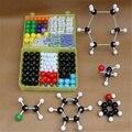 Venda quente 267 PCS Kit Conjunto Modelo Molecular Química Geral E Orgânica Conjunto Modelo de Aprendizagem Educacional Para O Aluno Da Escola Crianças