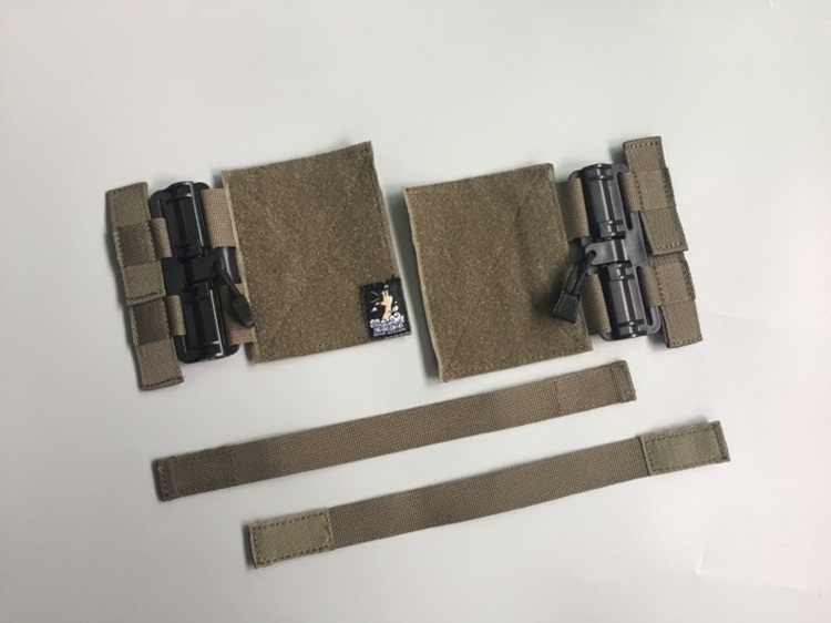 FSD-MJ Chaleco t/áctico Universal MOLLE Removal Fast Fit Hebilla Set Sistema de liberaci/ón r/ápida Set para JPC CPC NCPC 6094 420 Vest