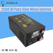 Reliable Pure Sine Wave Inverter UPS and charging function 2500W outdoor home frequency inverter with charger цена и фото