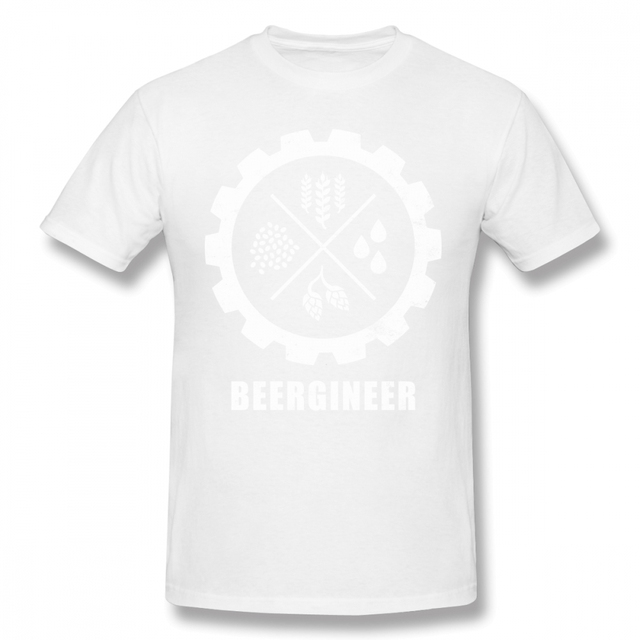 4a401dec83b Funny Beergineer Gear T Shirt T Shirt For Male New Arrival ...